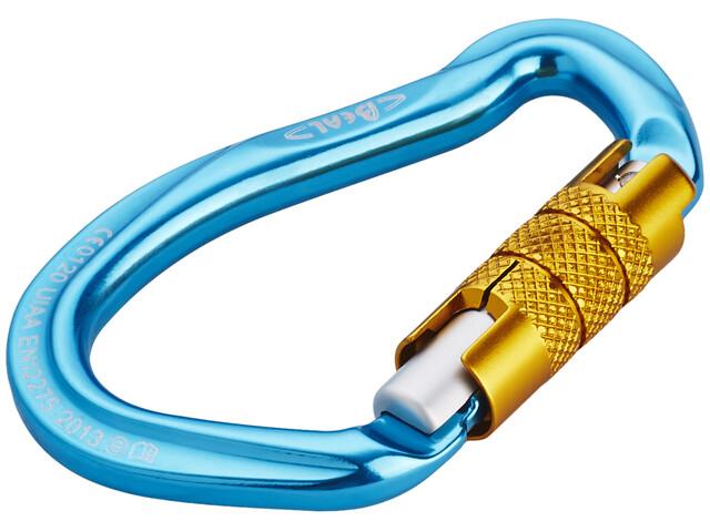 Beal Be Link 3 Matic - Mousquetons - jaune/bleu